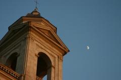 Roman Church Moon