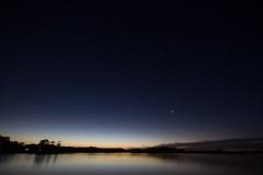 Venus, Orion, Marochy River